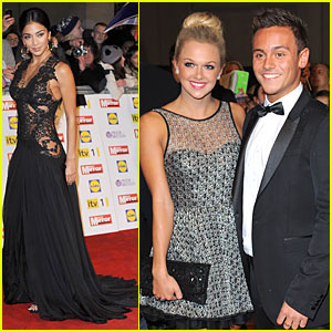 Nicole Scherzinger & Tom Daley: Pride of Britain Awards!