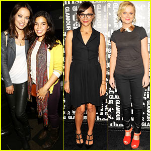 Olivia Wilde & Rashida Jones: Glamour's These Girls at Joe's Pub!