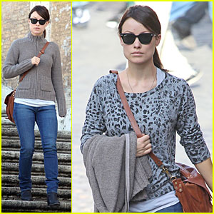 Olivia Wilde: 'Saturday Night Live' Viewing in Italy?