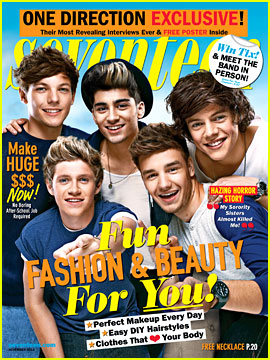 One Direction Covers 'Seventeen' November 2012
