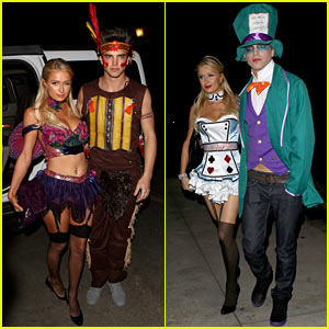 Paris Hilton & River Viiperi: Halloween Party Pair!