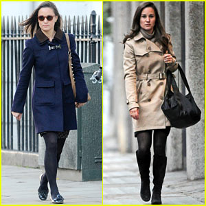 Pippa Middleton: Errands & Work in London!