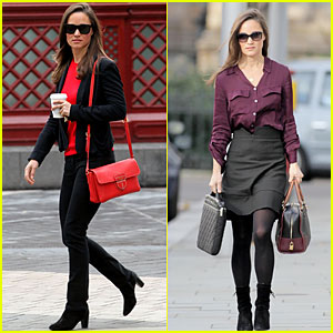 Pippa Middleton: Running Errands in London!