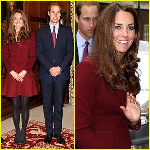 Prince William & Duchess Kate: Middle Temple Scholars Visit!