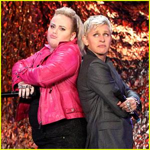 Rebel Wilson & Ellen DeGeneres Rap Salt-N-Pepa's 'Shoop'!