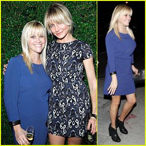 Reese Witherspoon & Cameron Diaz: 'rag & bone' Flagship Opening!