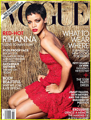 Rihanna: 'Vogue' November 2012 Cover!