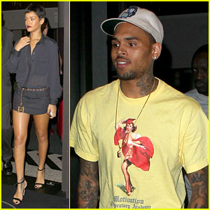 Rihanna & Chris Brown: Gansevoort Hotel Departure