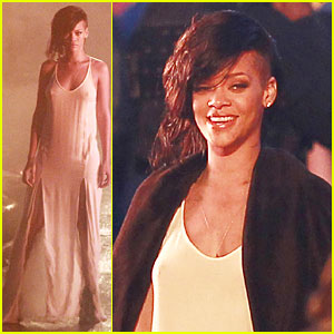 Rihanna: 'Diamonds' Music Video Set!