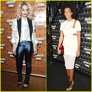 Rita Ora & Solange Knowles: Absolute Tune Launch Party!