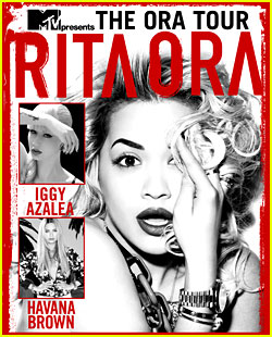 Win Free Tickets & Meet Rita Ora at 'The Ora Tour'!