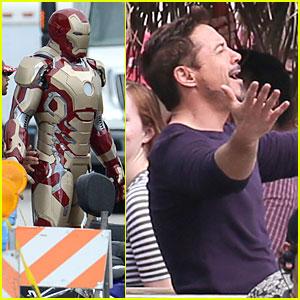 Robert Downey Jr: 'Iron Man 3' Suit First Look!