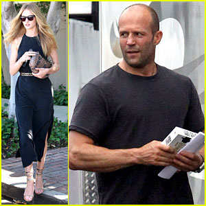 Rosie Huntington-Whiteley Lunches in WeHo, Jason Statham Works in Nola