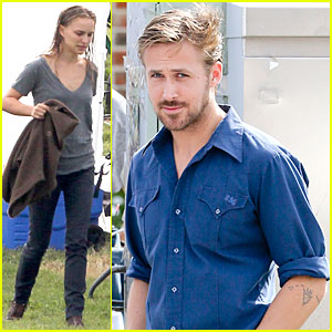 Ryan Gosling &#038; Natalie Portman: 'Untitled Malick Project' Set with Cate Blanchett!