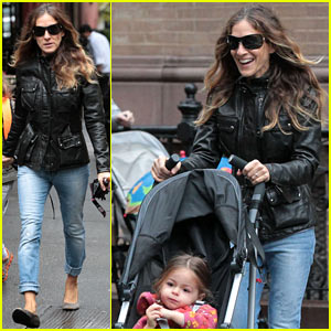 Sarah Jessica Parker: Big Apple Morning with the Kids!