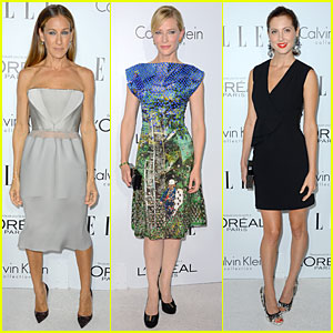 Sarah Jessica Parker & Cate Blanchett - Elle Women in Hollywood 2012