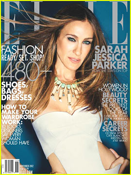 Sarah Jessica Parker Covers 'Elle' November 2012
