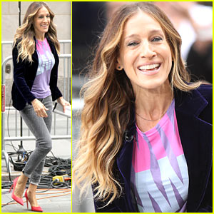 Sarah Jessica Parker Supports Obama on 'Access Hollywood'