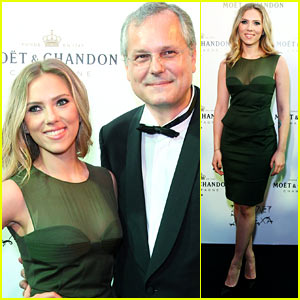 Scarlett Johansson: Moet & Chandon Anniversary Party!
