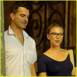 Scarlett Johansson Splits with Nate Naylor