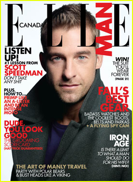 Scott Speedman Covers 'Elle Man' November 2012