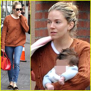 Sienna Miller: Tea & Sympathy Stop with Marlowe!