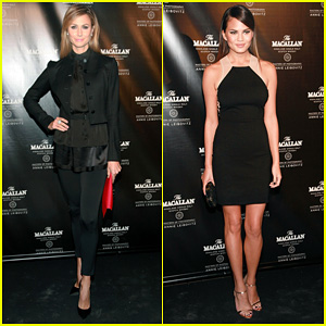 Stacy Keibler: Annie Leibovitz's 'Macallan Masters' Exhibit Launch!