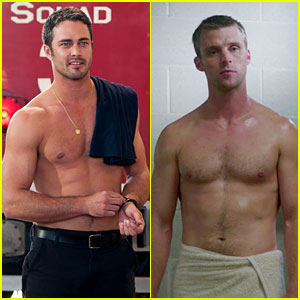 Taylor Kinney &#038; Jesse Spencer: Shirtless for 'Chicago Fire'!