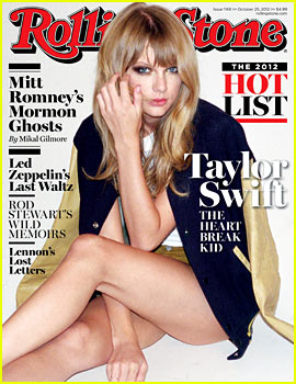 Taylor Swift Covers 'Rolling Stone'