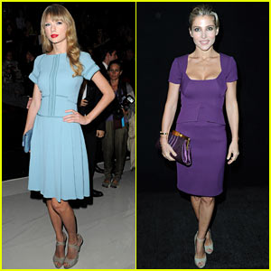Taylor Swift: Elie Saab Paris Fashion Show!