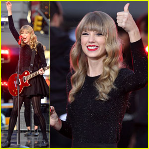 Taylor Swift: 'Good Morning America' Concert - Watch Now!