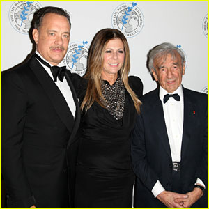 Tom Hanks: Arts for Humanity Gala with Elie Wiesel!