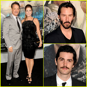 Tom Hanks & Keanu Reeves: 'Cloud Atlas' Premiere!