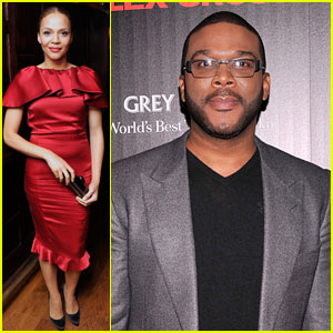 Tyler Perry: 'Alex Cross' Screening with Carmen Ejogo!