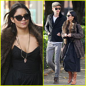 Vanessa Hudgens & Austin Butler: Big Apple Stroll!