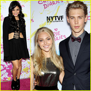 Vanessa Hudgens: 'Carrie Diaries' Premiere with Austin Butler!