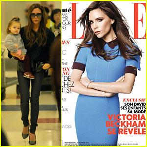 Victoria Beckham Covers 'Elle France' Magazine