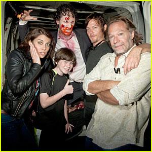 'Walking Dead' Cast: Halloween Horror Nights!