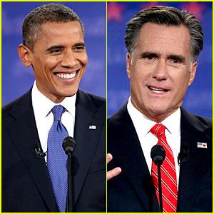 Watch Presidential Debate with Barack Obama & Mitt Romney