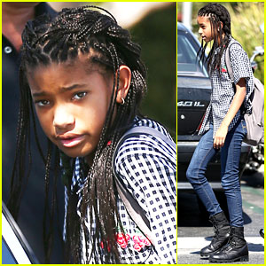Willow Smith: New Braided Hair!