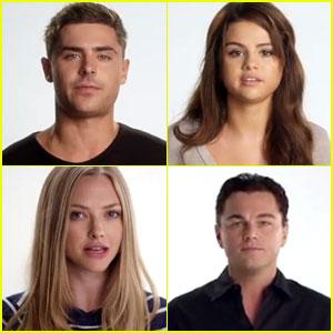 Zac Efron & Leonardo DiCaprio: Vote 4 Stuff Campaign Vid!