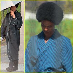 Zoe Saldana as Nina Simone - First Look!