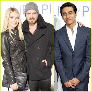 Aaron Paul & Suraj Sharma: 'Life of Pi' Special Screening!