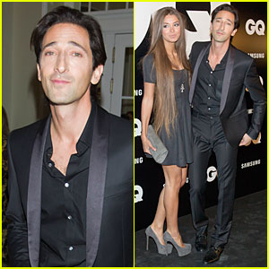 Adrien Brody & Lara Lieto: GQ Awards in Madrid!