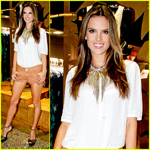 Alessandra Ambrosio: Colcci Collection Launch in Rio!