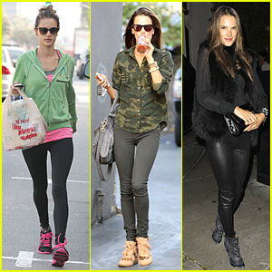 Alessandra Ambrosio: Grocery Shopping with Anja!