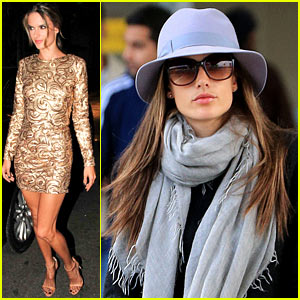 Alessandra Ambrosio: Victoria's Secret Fashion Show Fitting in NYC!