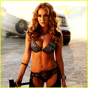 Alexa Vega: Bikini & Chaps in New 'Machete Kills' Photo!