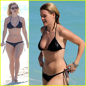 Alice Eve: Bikini Babe in Miami!