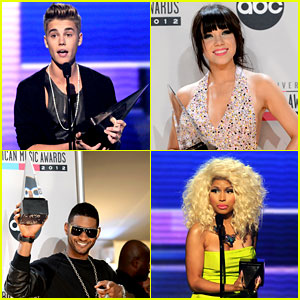 AMAs Winners List 2012 - Find Out Who Won the Big Awards!